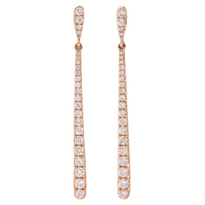 Cascading Line Earrings - Best & Co.