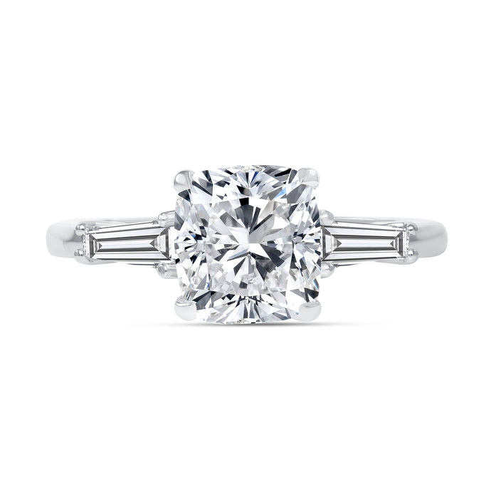 2 Carat Cushion Engagement Ring