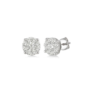 Diamond Illusion Travel Studs (0.25 tcw)