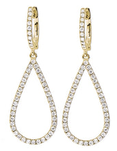 Diamond Teardrop Earrings - Best & Co.