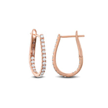 Horseshoe Hoop Earrings - Best & Co.