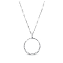 Diamond Circle Pendant - Best & Co.