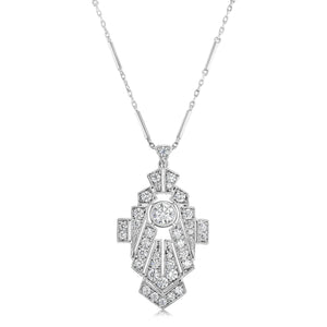 Art Deco Pendant Necklace