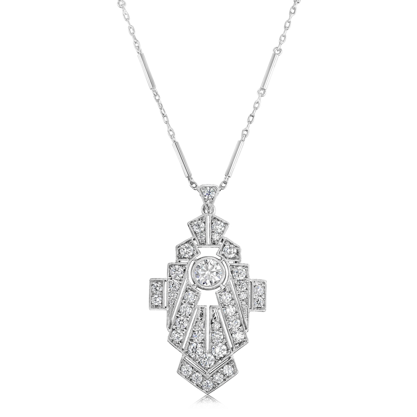 Art Deco Pendant Necklace - Best & Co.