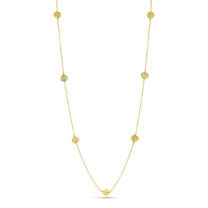Aspen Leaf Station Necklace (32 inches) - Best & Co.