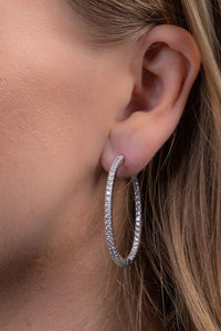 Perfect Diamond Hoops