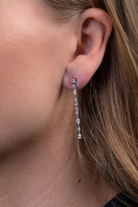 Delicate Multi-Shape Diamond Earrings