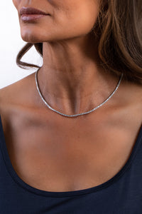 Essential Diamond Line Necklace (8.25 tcw)