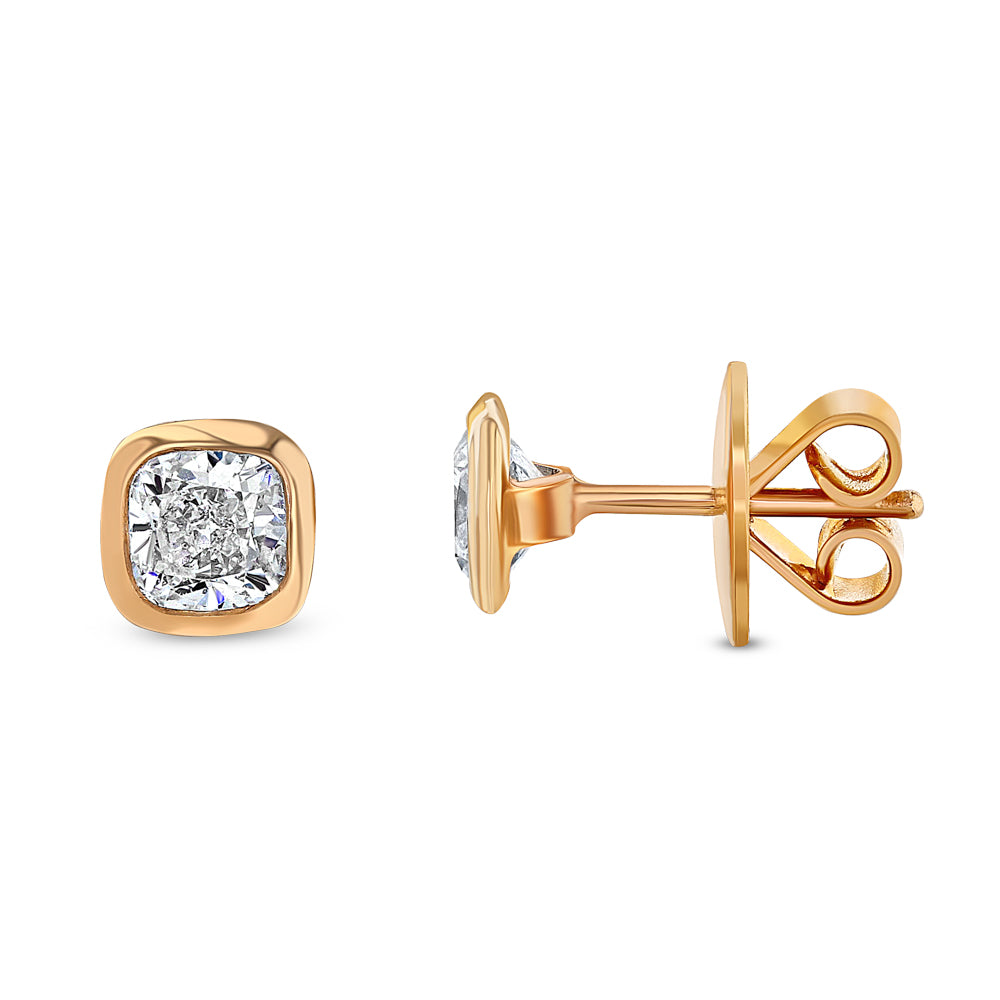 Best & Co. Cushion Cut Studs (1.00 tcw)