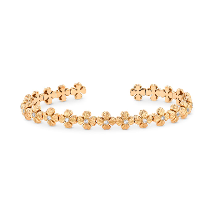 Best & Co. Flexible Clover Cuff (18k RG)