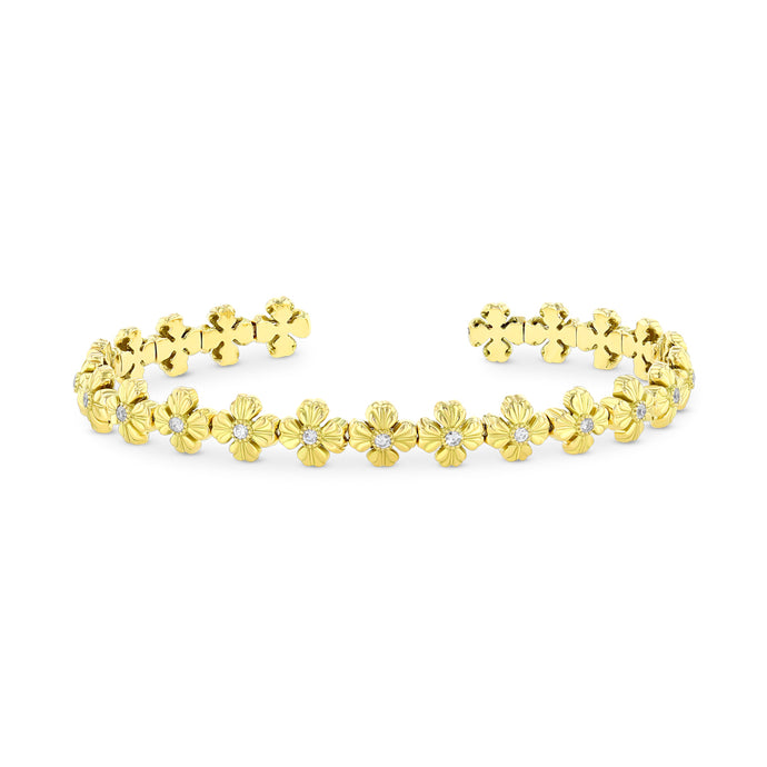 Best & Co. Flexible Clover Cuff (18k YG)