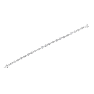 Bezel Set Diamond Bracelet (2 tcw)
