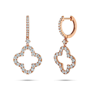 Clover Drop Earrings - Best & Co.