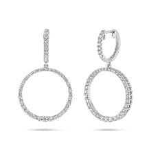 Diamond Circle Earrings - Best & Co.