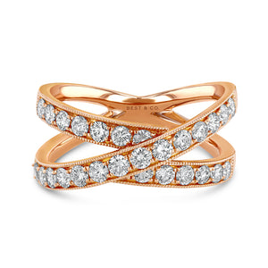 Diamond Wrap Ring - Best & Co.