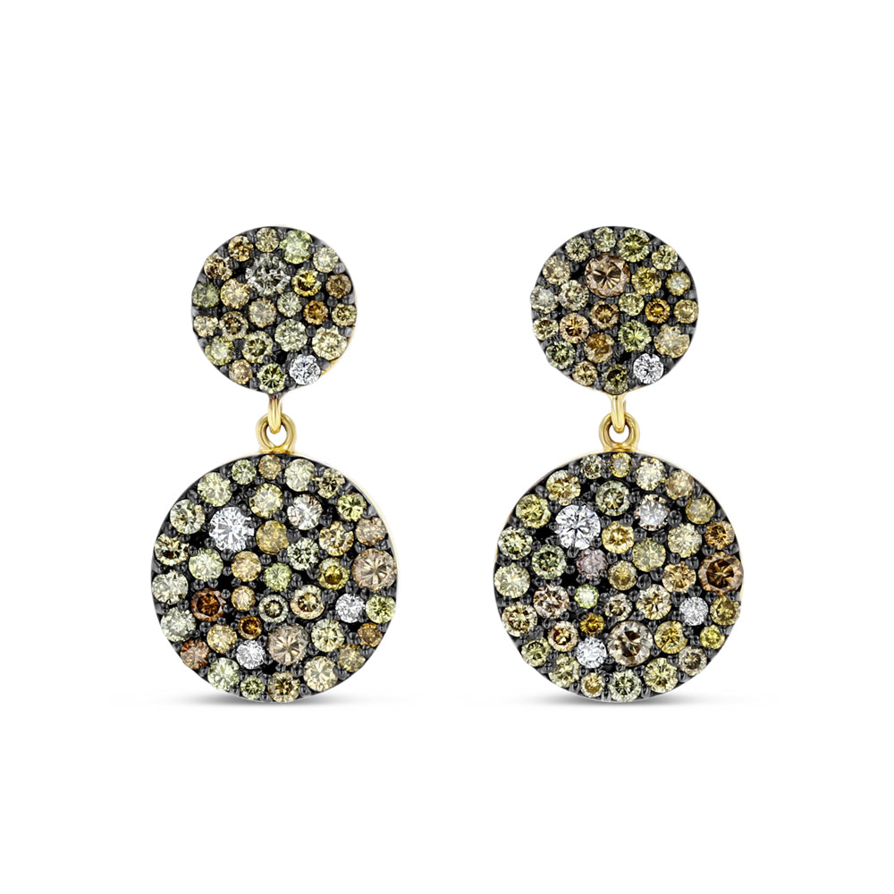 Double Medallion Earrings - Best & Co.