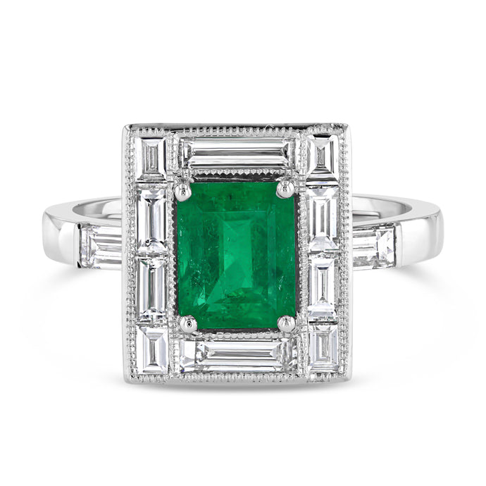 Emerald and Diamond Ring - Best & Co.