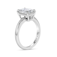 Timeless Emerald Cut Engagement Ring - Best & Co.