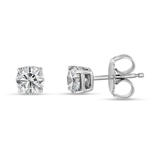 Essential Diamond Studs (0.50 tcw) - Best & Co.