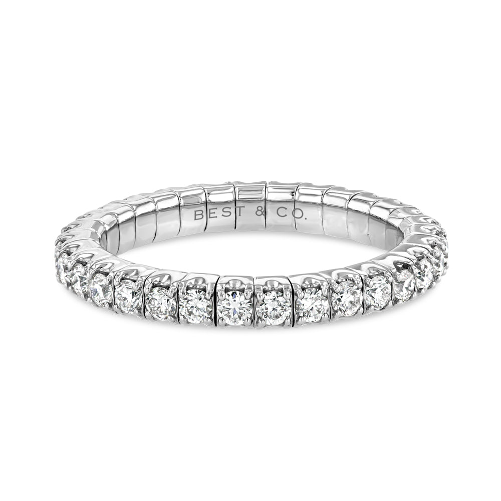 Flexible Diamond Band - Best & Co.