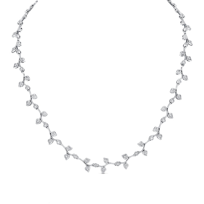 Diamonds on the Vine Necklace