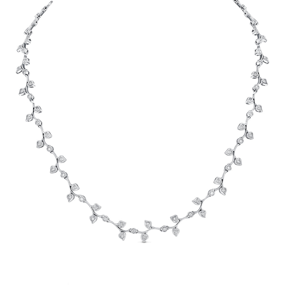 On The Vine Diamond Necklace