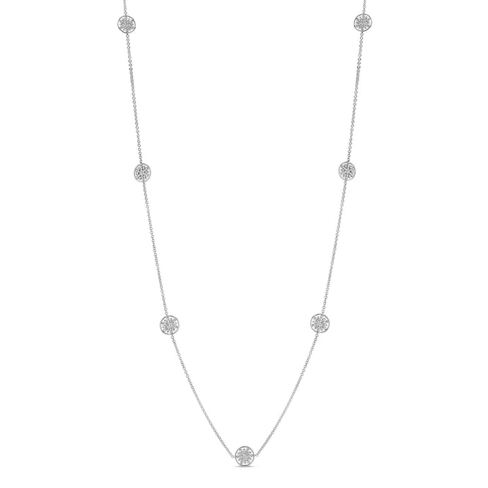 Snowflake Station Necklace