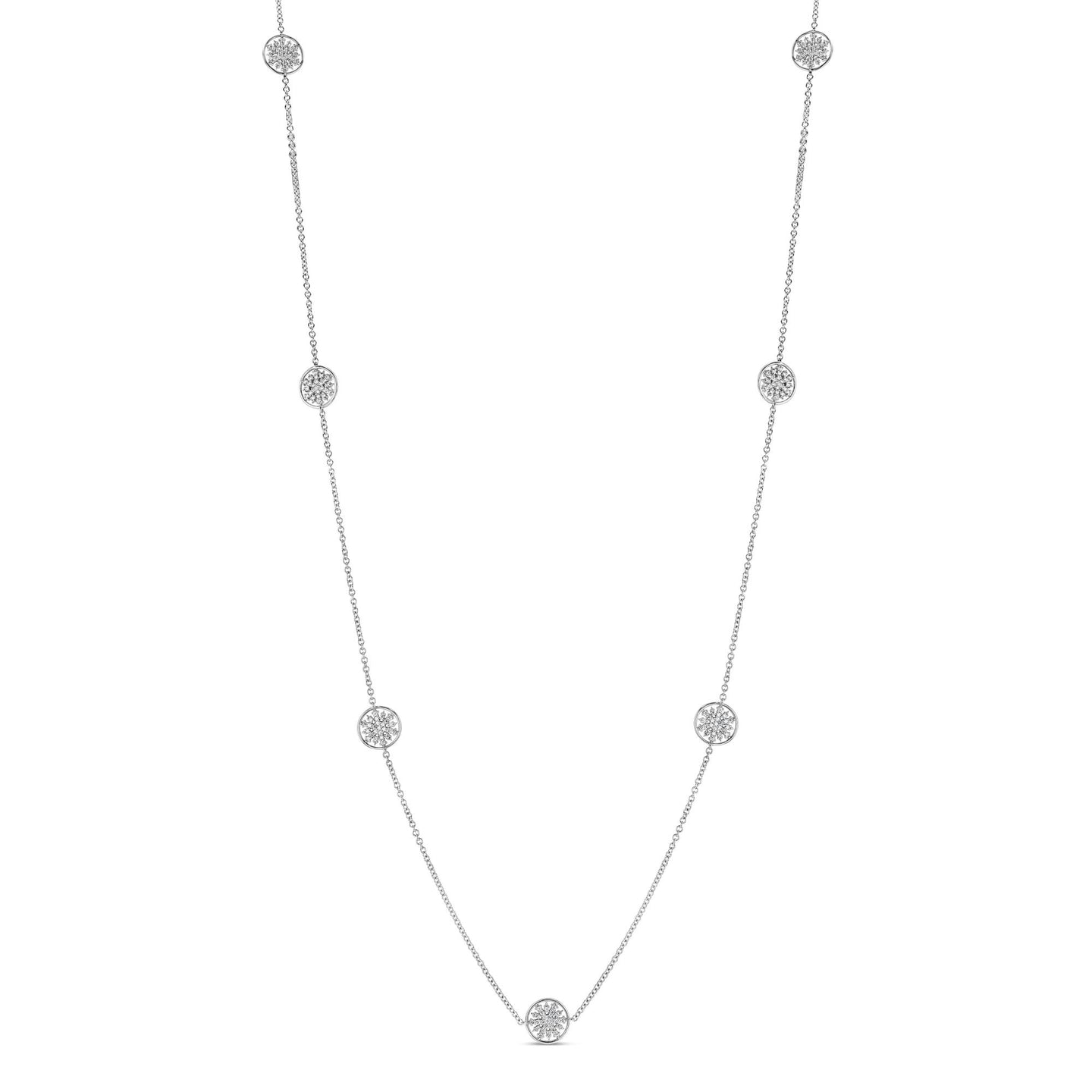 Snowflake Station Necklace - Best & Co.