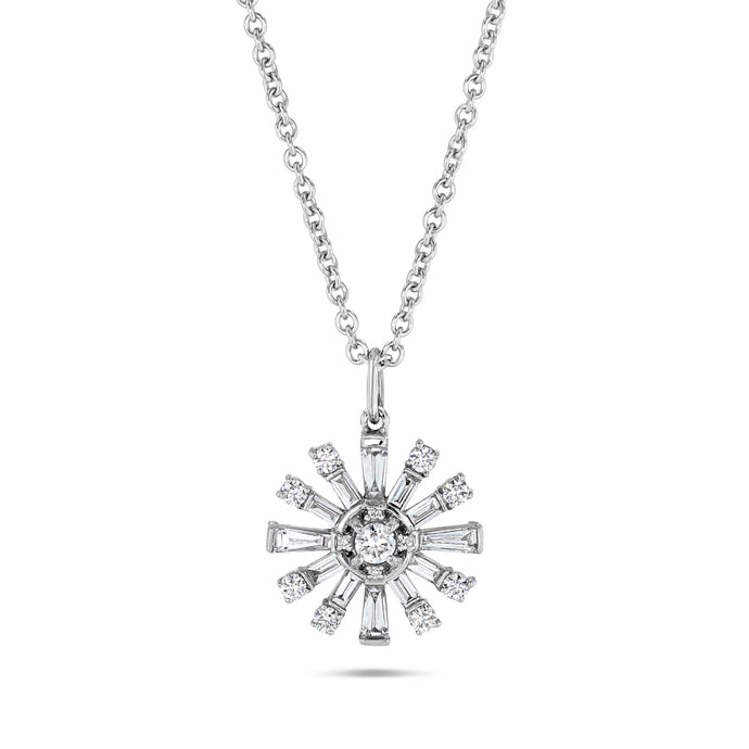 Diamond Sputnik Pendant - Best & Co.