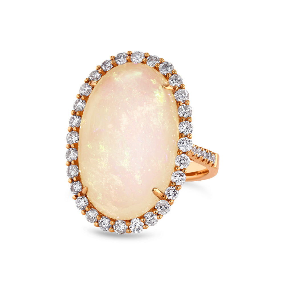 Opal and Diamond Ring - Best & Co.