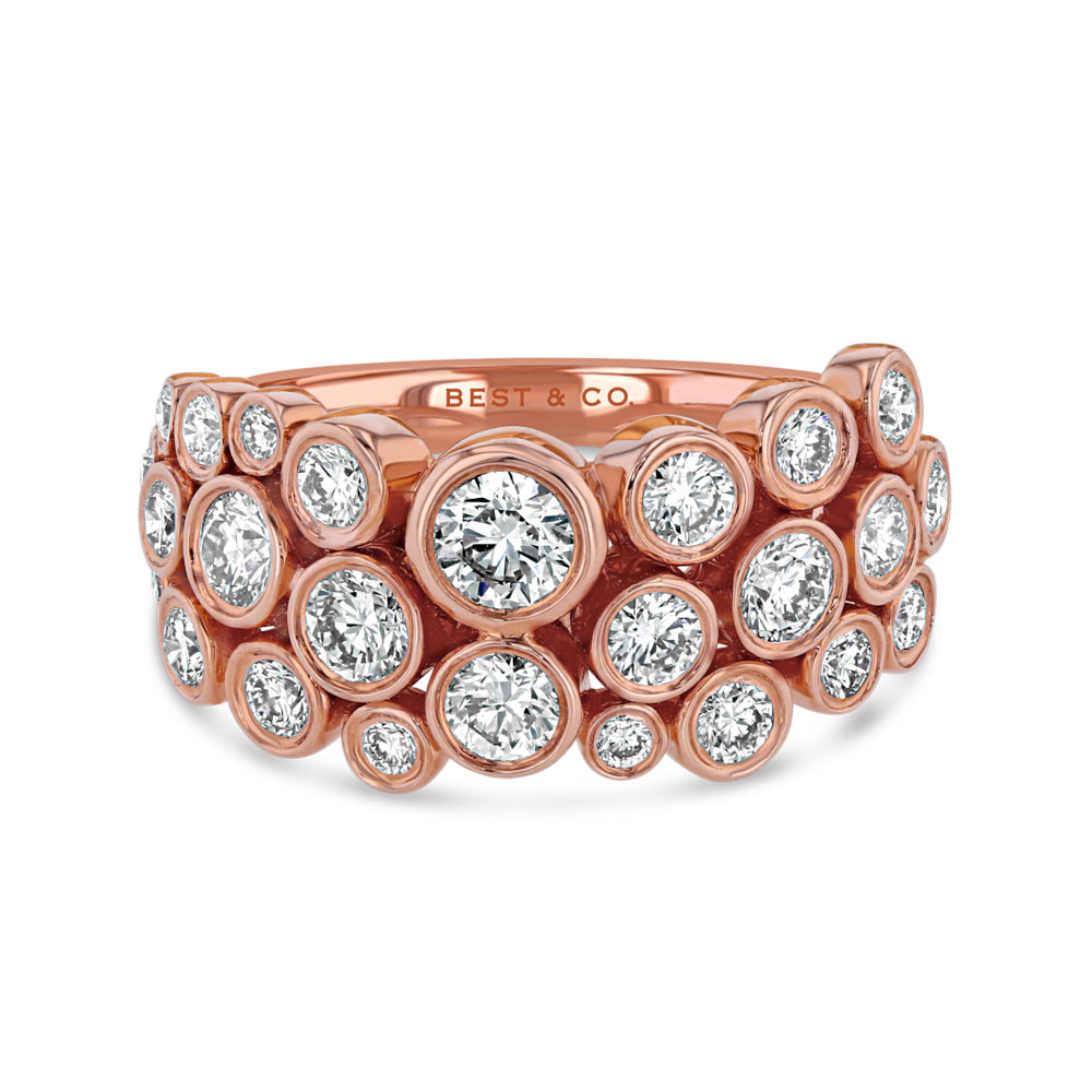 Organic Bezel Set Diamond Ring - Best & Co.