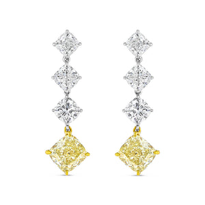 Legacy Yellow Diamond Drop Earrings
