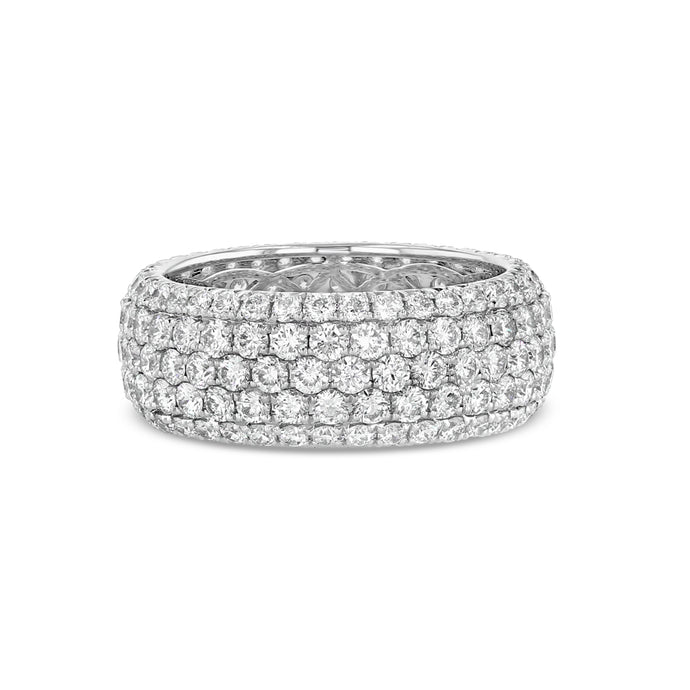 Perfect Diamond Pavé Eternity Band (4 tcw)