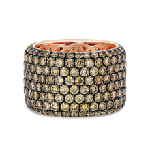 Champagne Diamond Pavé Band (14K Rose Gold) - Best & Co.