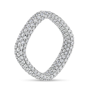Inside-Out Square Diamond Ring - Best & Co.