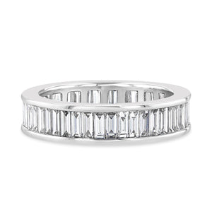 Classic Baguette Eternity Band