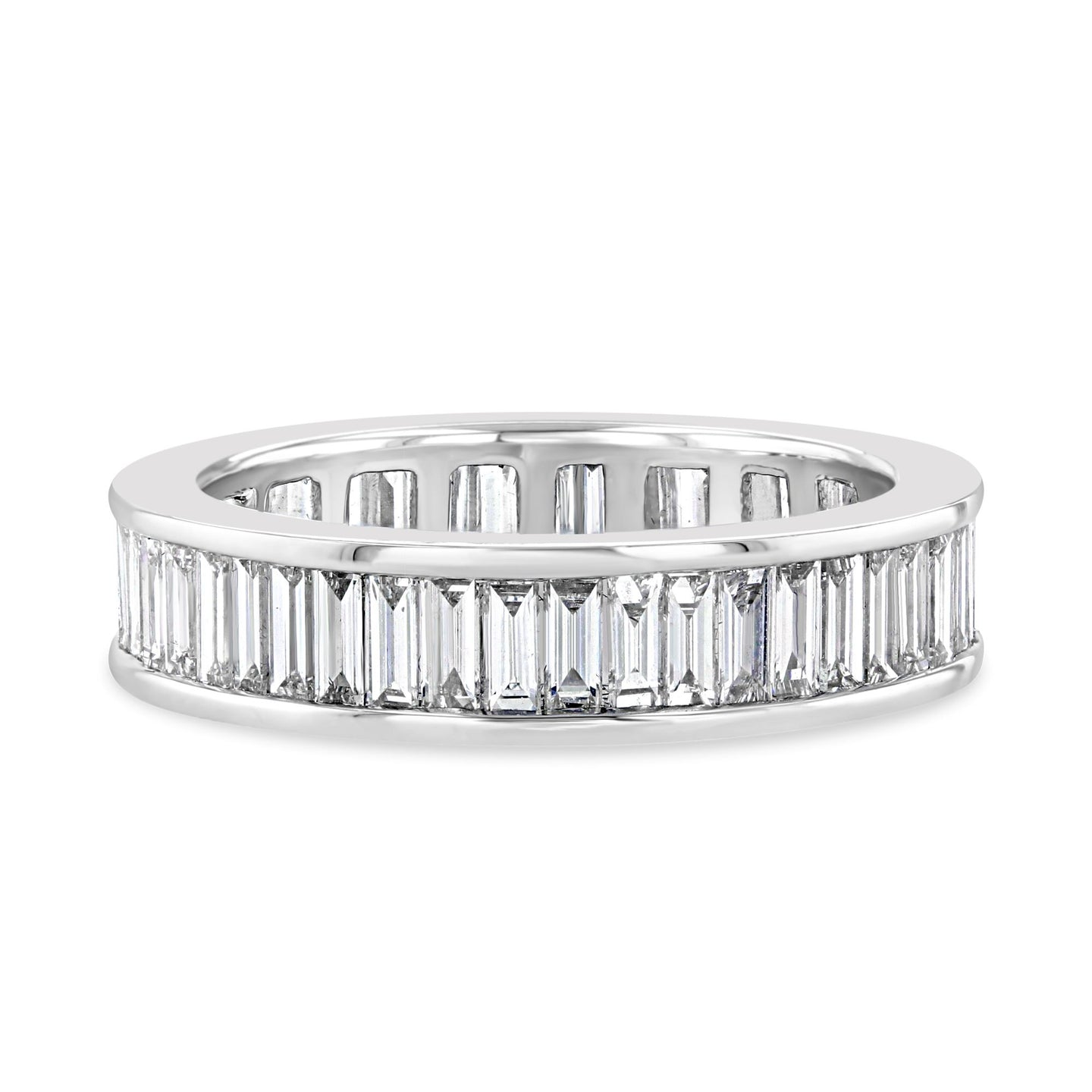Classic Baguette Eternity Band - Best & Co.