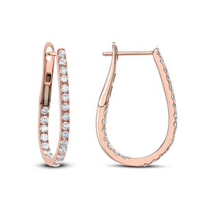 Horseshoe Hoop Earring (Medium) - Best & Co.