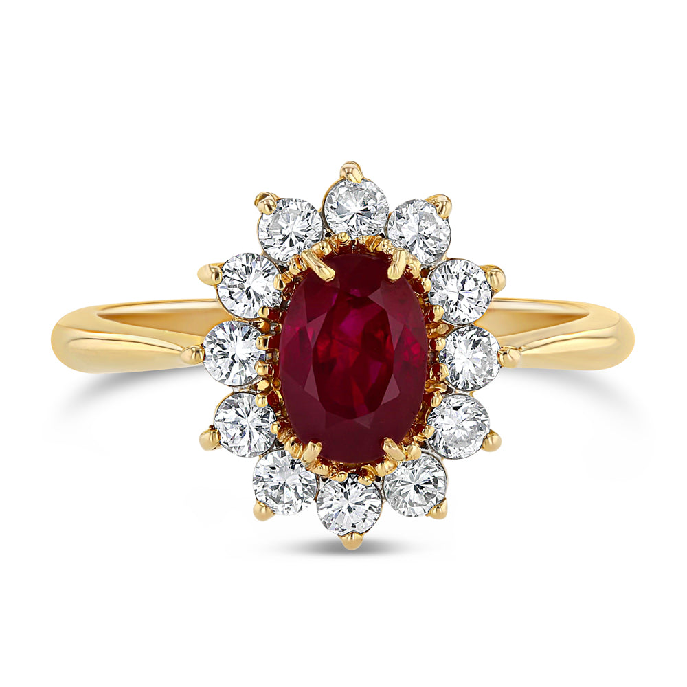 Ruby and Diamond Ring - Best & Co.