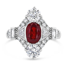 Exceptional Ruby and Diamond Ring - Best & Co.