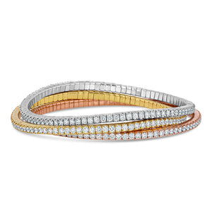 Flexible Diamond Tennis Bracelets - Best & Co.