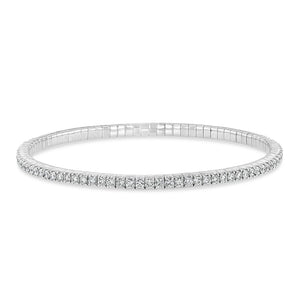 Flexible Diamond Tennis Bracelets