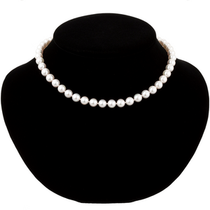 Classic Akoya Pearl Necklace - Best & Co.