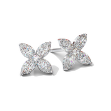 Diamond Flower Studs (Small) - Best & Co.
