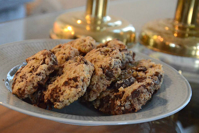 LCHF Choc Chip Cookies