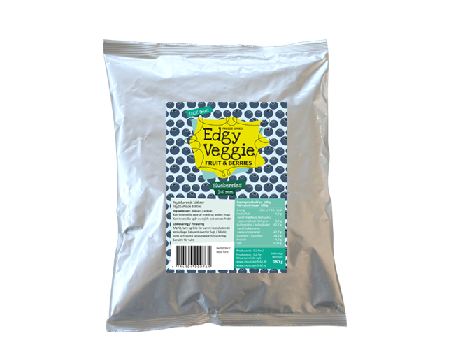 Edgy Veggie Freezedried Blueberry (1-6 mm) (180 g)