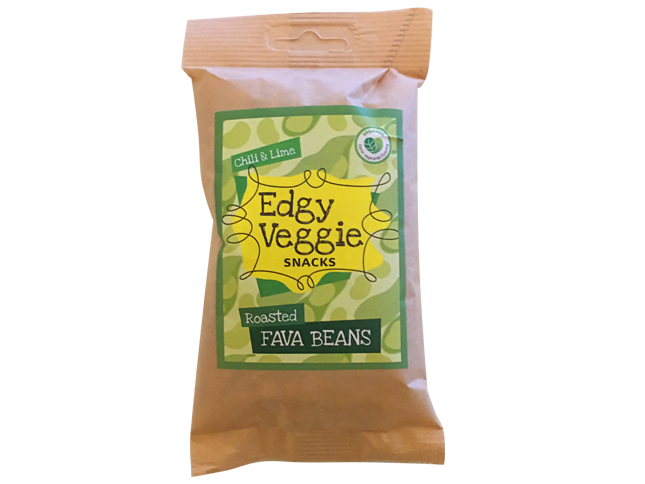 Edgy Veggie Roasted Fava Beans Chili & Lime (100 g)