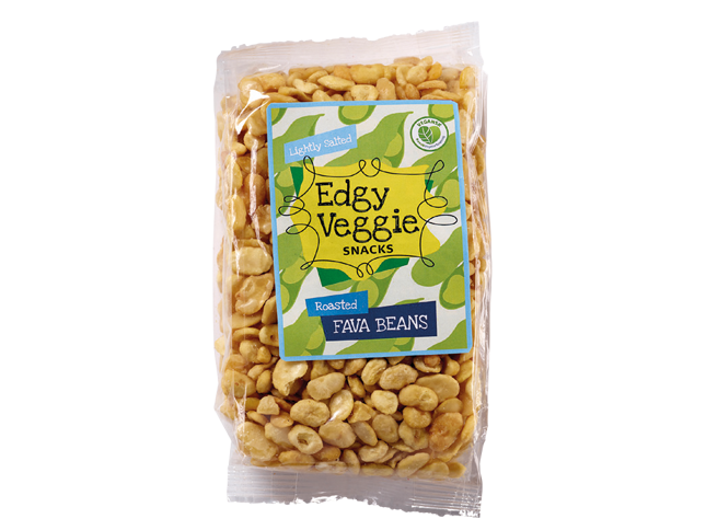 Edgy Veggie Roasted Fava Beans - Lightly Sea Salted (300 g)