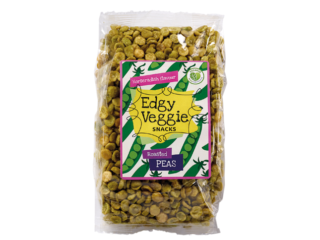 Edgy Veggie Roasted Peas - Horseradish & Sea Salt (300 g)