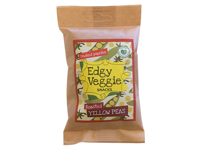 Edgy Veggie Roasted Yellow Peas Smoked Paprika (100 g)